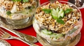 Легкие салатики к 8 марта