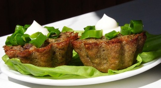 Куриный пудинг с овощами и зеленью