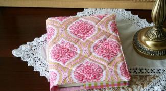 Как сделать обложку для книги из ткани