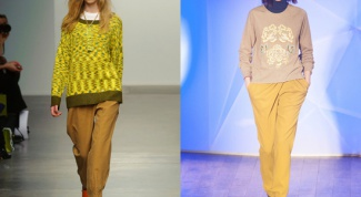 What to wear with pants mustard color