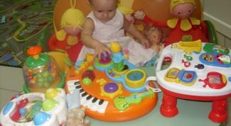 Игры с малышом в возрасте один год