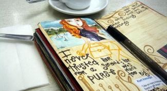 Как интересно оформлять личный дневник