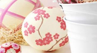 Идеи украшения яиц к пасхе