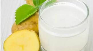 Как похудеть с помощью картофельного сока