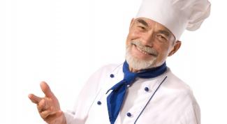 выбрать хорошего шеф-повара в свой ресторан