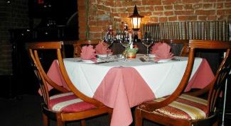 Скатерти в ресторане– красиво или бесполезно