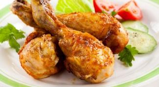 Как запечь куриные ножки в духовке с корочкой