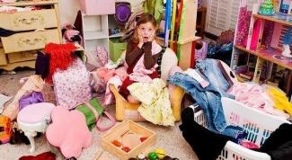 Порядок в детском шкафу