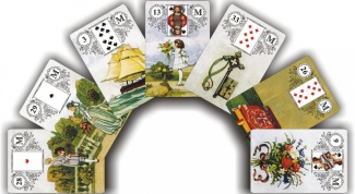 How to read Tarot cards Lenormand