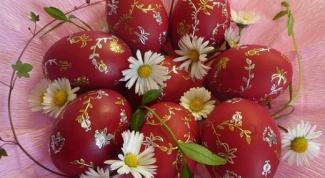 Как сделать натуральные красители для пасхальных яиц своими руками