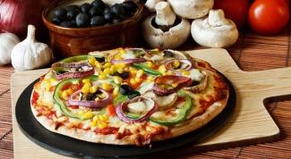 Вегетарианская пицца: рецепт приготовления
