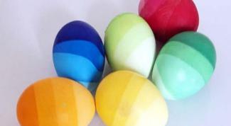 Как оригинально покрасить яйца к Пасхе