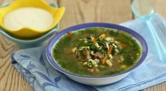 Португальский зеленый суп