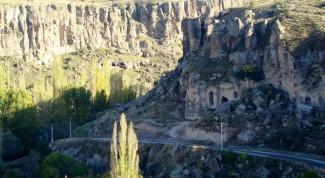 Отдых в Турции: ущелье Ихлара