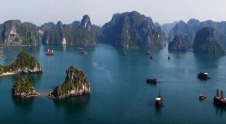 Путешествие во Вьетнам. Бухта Халонг