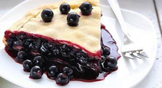 Как приготовить пирог со смородиной
