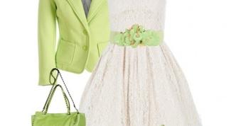 С чем лучше носить белое платье