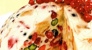 The fruit cake without baking