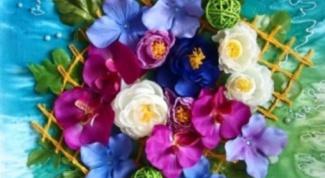 Как сделать декоративное панно на стену из цветов
