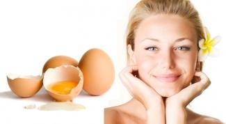 Яичные маски для лица