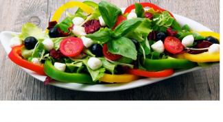 Рецепт вкусного овощного салата