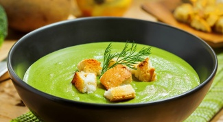 Вкусный суп-пюре из брокколи