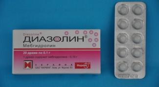 """Инструкция по применению препарата """"Диазолин"""""""