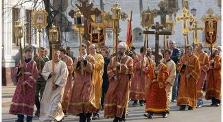 Главные особенности богослужений пасхальной недели