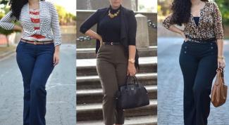Как выбрать брюки женщинам с широкими бедрами