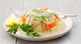 Как приготовить вкусное заливное из курицы