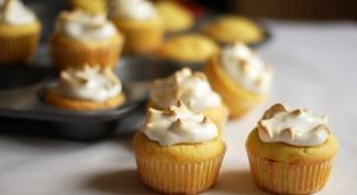 Как приготовить лимонные капкейки