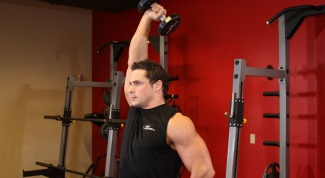 How to build triceps free weights