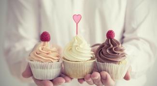 Шоколадные и творожные капкейки - рецепт приготовления
