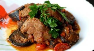 Как приготовить тушеную телятину