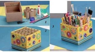 Большой органайзер для карандашей и ручек
