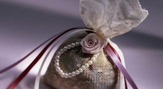 Как сделать ароматное саше