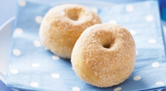 Как приготовить пончики с корицей