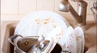 Как просто отмыть посуду от жира