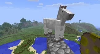 Как сделать лошадь в «Майнкрафте»