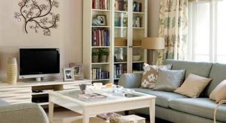 Некоторые простые приемы сделать маленькую комнату визуально больше