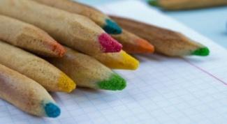 Вкусные цветные карандаши