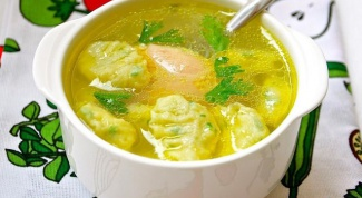 Как приготовить суп с клецками в мультиварке