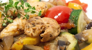 Chicken fillet in the oven with mushrooms and cheese