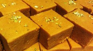Как приготовить ладду (индийский десерт)