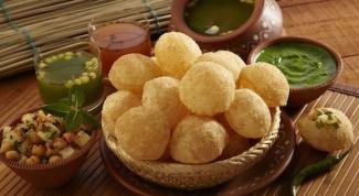 Как приготовить голгапе (индийское блюдо)