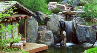 Как сделать водопад на дачном участке