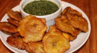 Какие блюда можно приготовить из зеленых бананов