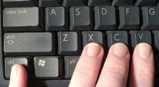 Как копировать текст, не пользуясь мышкой