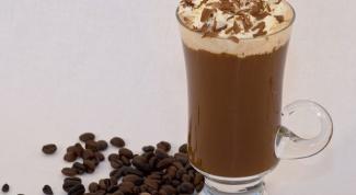 Как приготовить кофе глясе
