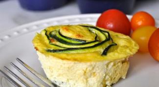 Вкусный завтрак: фриттата с яйцами и кабачками